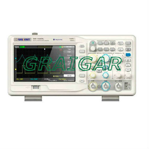 Digital Colorful 50MHz Oscilloscope 2Channels 500MSa/s USB 110-240V 7'' TFT LCD SDS1052DL