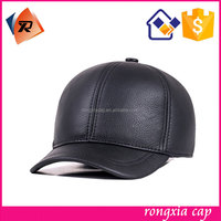 Popular Design Custom Fancy Leather Baseball Hat Caps