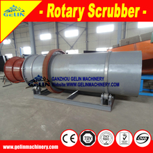 Alluvial Mining Equipment chrome washing rotary drum trommel scrubber