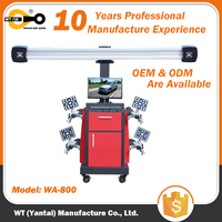 3D Wheel Alignment Machine Equipment For