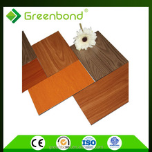 outdoors wooden aluminum composite wall panel sheet acp acm