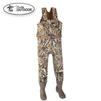 Mens Camo Neoprene Waterproof Hunting Chest Waders