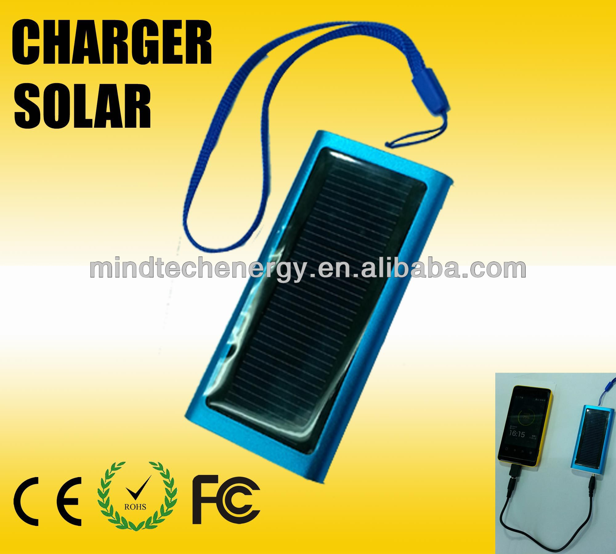 1800mAh lithium battery foldable solar japan mobile phone charger