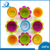 Food Grade Colorful Non-stick Silicone Muffin Pan