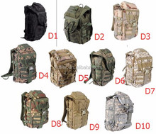 Outdoor Camping Hiking Sport Bag Military Waterproof 600D Nylon Backpack