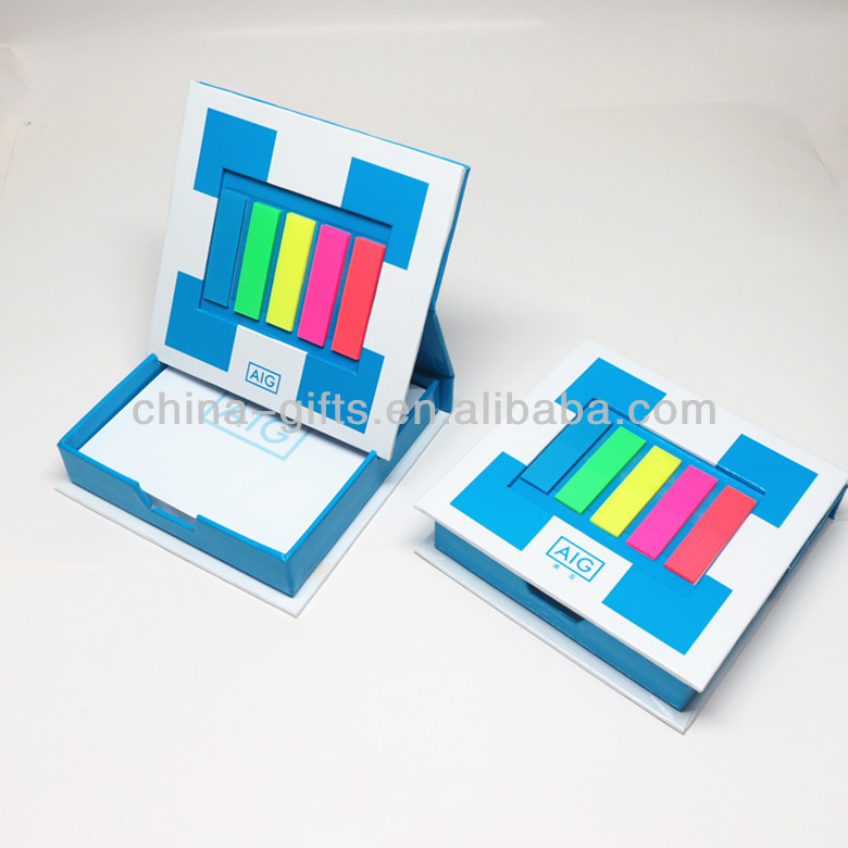 photo frame case with sticky notes