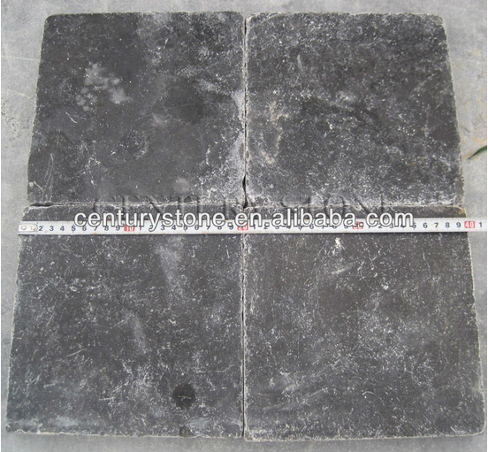 China nature china polished blue limestone tile with low price