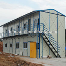 standard desing and security steel frame mobile home steel structure mobile home