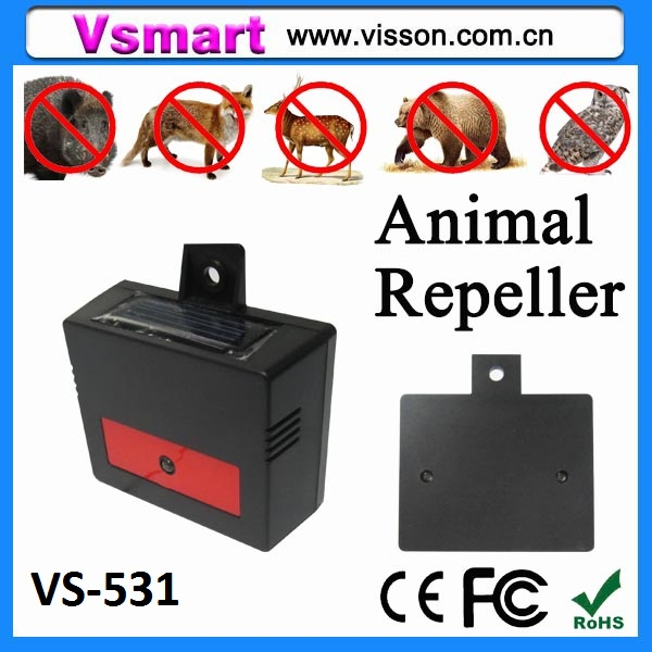 VS-Hot selling Solar animal repeller/Solar deer repeller/Solar pig repeller