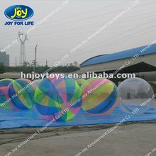 2012 Hot Sale Popular Inflatable Water Ball (Transparent/colorful)