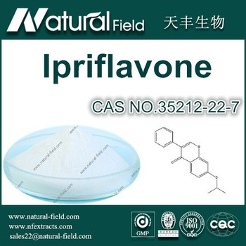 Ipriflavone 98% Powder CAS NO.35212-22-7 Manufacturer