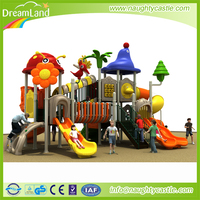 2016 Outdoor Playground Manufacturer Small Outdoor Playground Equipment Kids Rubber-Coating Outdoor Playground Equipment