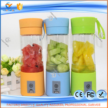New Arrival 400ML Portable Electric Rechargeable Fruit Juicer Cup/Blender Bottle