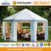Discount hexagon 12x12 canopy tent for sale Easy to install