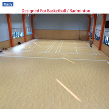 Indoor Used Basketball Court Flooring Material