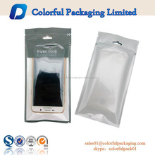 custom new design waterproof mobile cell phone case USB accessories headphone cable pouch retail packaging