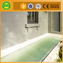 Reasonable price heat- resistant fire rated anti-slip glass for various market