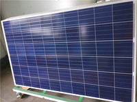 BIPV CE monocrystalline polycrystalline silicon material mono poly solar cell panel 250 w on grid solar panel system