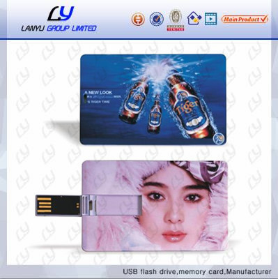 Credit card style custom logo usb flash drive, Waterproof real capacity usb flash driver 2gb 4gb 8gb 16gb