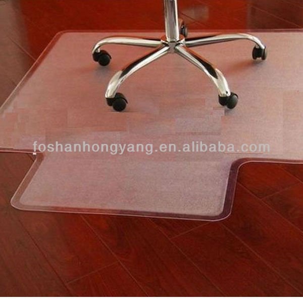 transparent pvc floor mat