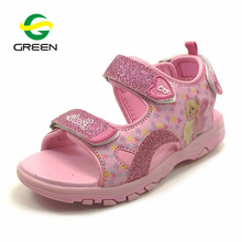 Greenshoe picture of kids pu sandal boys stylish casual shoes flat girls