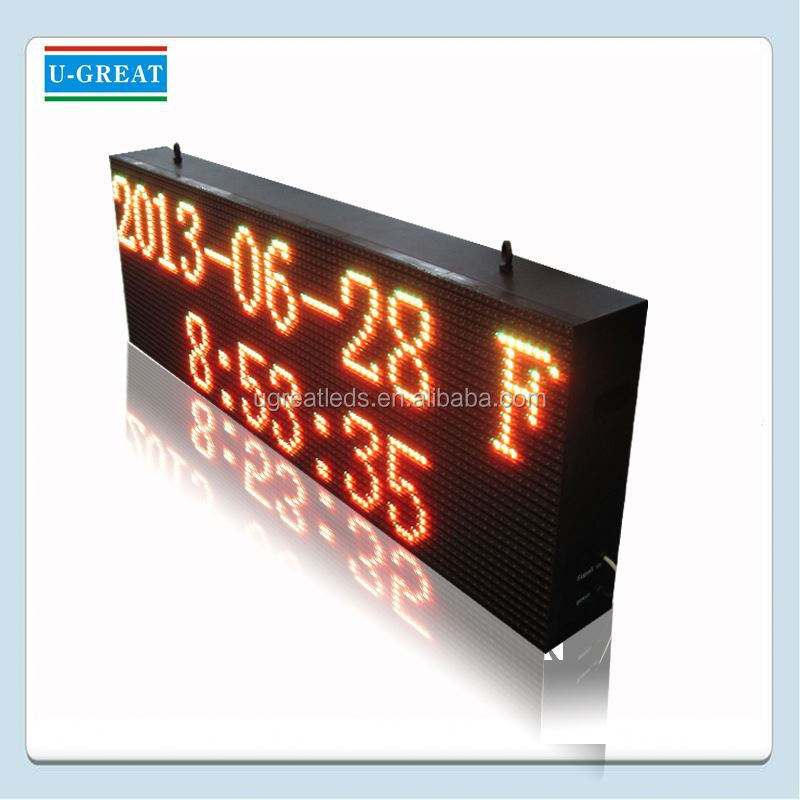 Super bright display big advertising outdoor led screen