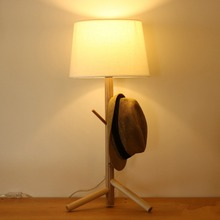 hot sale led wooden table lamp