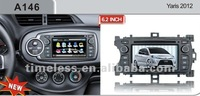 2-Din car DVD with 6cdc memory & pip for TOYOTA Yaris 2012
