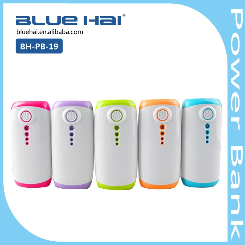 New Products 2016 Innovative Universal Long Lasting High Capacity Portable Charger Power Bank With FC CE ROHS