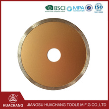 Danyang Huachang China good supplier diamond saw blade for wet cutting Manufacturer