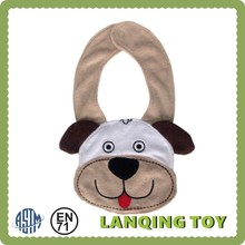 2015 Wholesale Soft Cotton Dog Baby Bibs