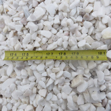Hot sale white marble crushed stone supplier in China