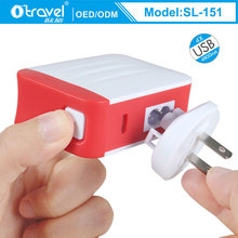 2017 mutiport chargers EU/US/UK Plug replaced Universal 4.8A 4 USB Ports Travel Home Wall Charger SL-151 mobile travel charger
