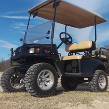 off rode tire gas powered golf cart for 4 people hunting