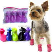 2015 Skidproof Pet Dog Rain Boots Pet Shoes IPET-PS01