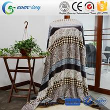 Multifunctional anti static thermal flannel blanket with low price ever ivy