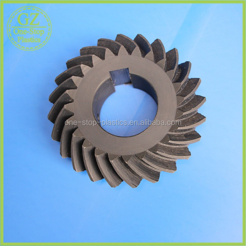 cnc helical nylon gear customized Helical Ertalon gear ertalong gear wheel