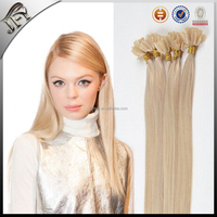 light brown brazilian hair nail tip hair extension
