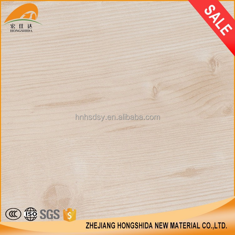 Wood grain vinyl PVC decorative films, self adhesive paper roll for house decoration furniture