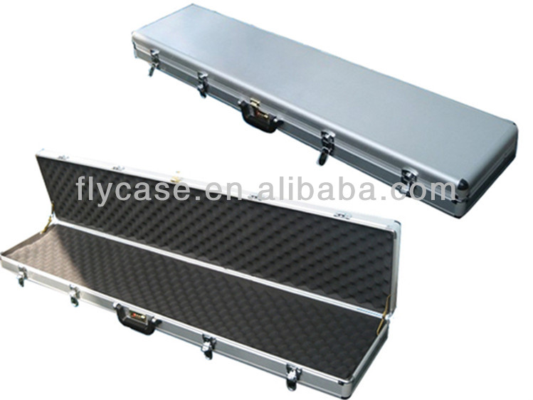 2014 customized aluminum gun case in carry storage case with handle