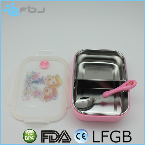 ~ Waterproof Kid Bento lunch box compartments China Manufacturer