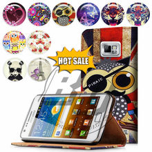 For Samsung Galaxy S4 I9500 Case Print Card Holder Flip PU Folio Wallet Book Style Leather Case Cover Mobile Phone Csaes