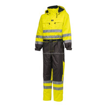 OEM fluorescent hi vis ultima coverall workwear long sleeve work uniform