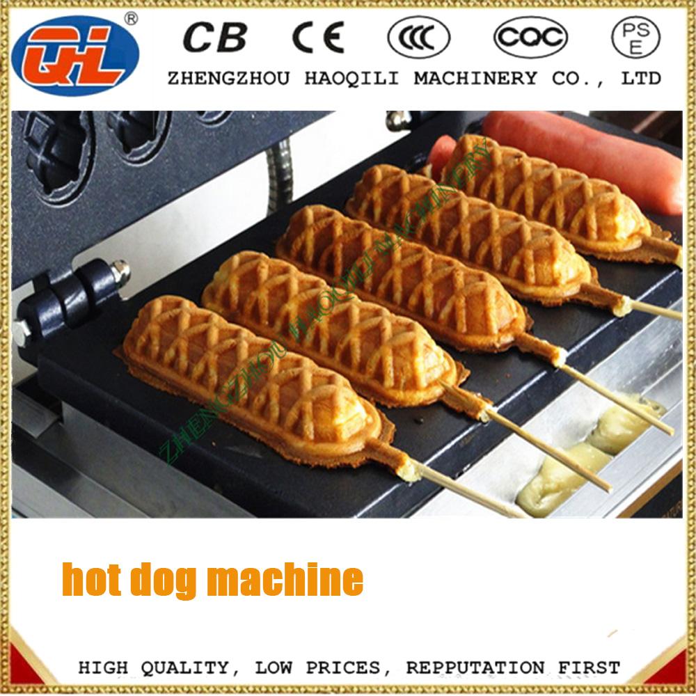 Stick On A Waffle Iron ~ Waffle hot dog maker commercial stick buy