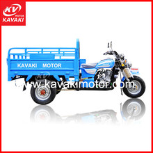 Chinese semi-encclosed cargo motorcycles/150cc three wheel petrol motorcycles for cheap sale