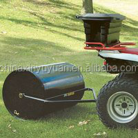 Lawn tractor roller with 35cm diameter and 100cm working width