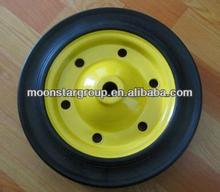 14 inch solid rubber wheel for wheelbarrow for sale