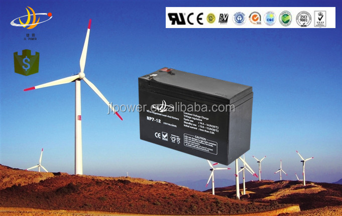 electric scooter battery 12v 7ah wind turbine battery 12v 80ah-200ah AGM VRLA battery with hot sale