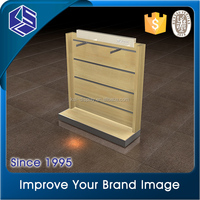 High end market furniture for clothing store MDF clothes display stand