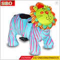 SIBO Coin operated push electric car kids walking animal rides